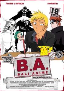 Poster Bali Anime